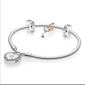Authentic Pandora Charms Bracelet